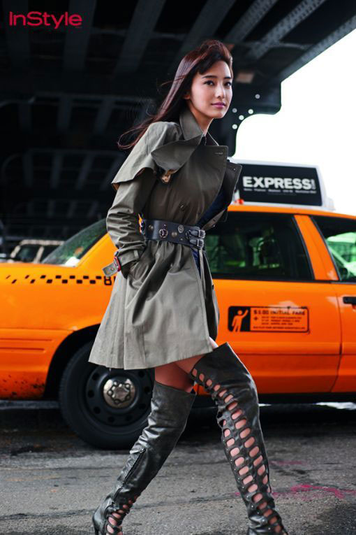 Han Chae Young In New York Style