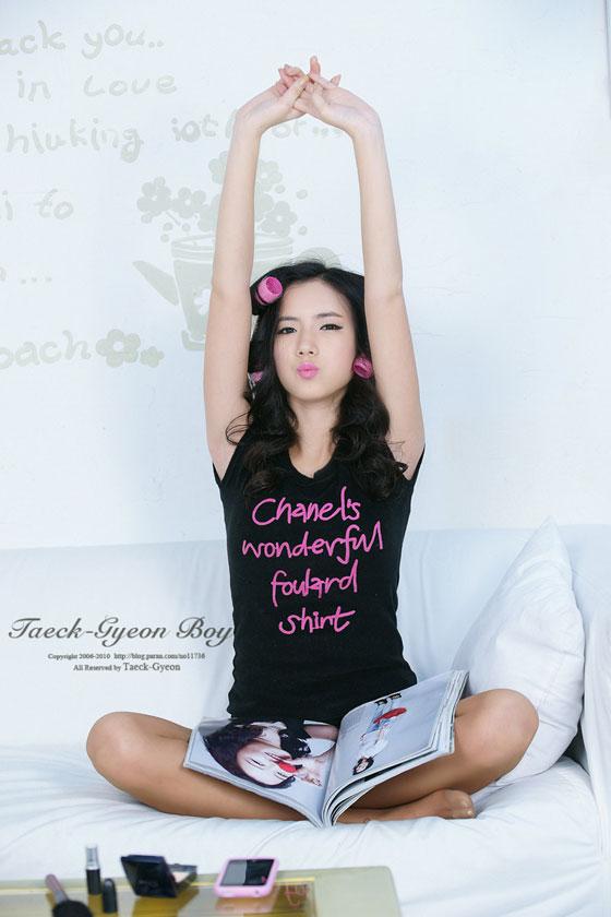 Cute model Lee Mi Hyeon