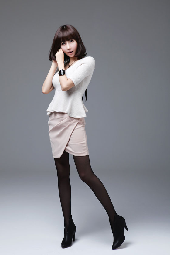 Model Choi Byul I in office lady suits and style » AsianCeleb
