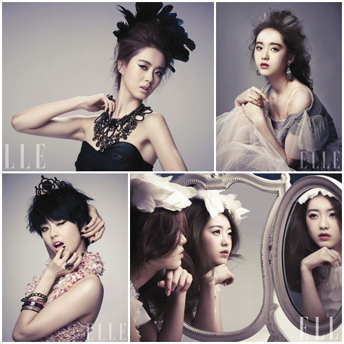 Actress Go Ara on Elle magazine » AsianCeleb