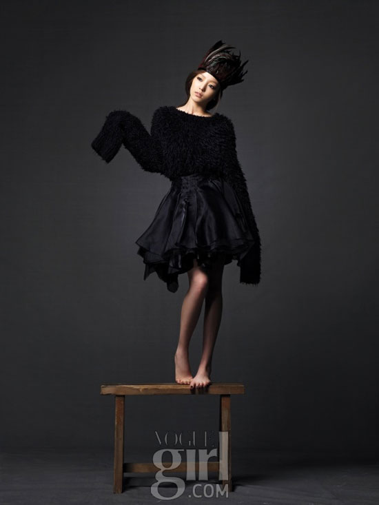 Singer Koo Hara on Vogue Girl magazine » AsianCeleb