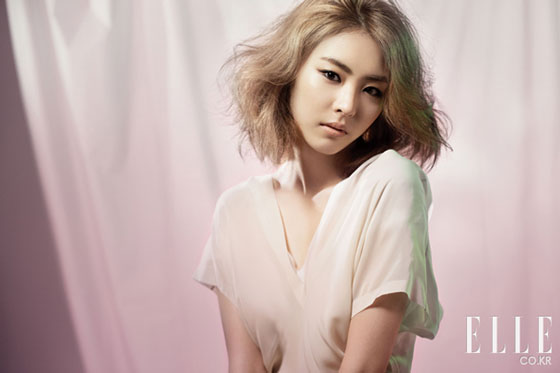 Actress Lee Yeon Hee on Elle magazine » AsianCeleb