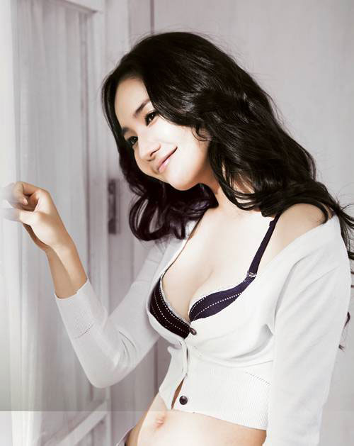 Actress Park Min Young for Solb lingeries » AsianCeleb