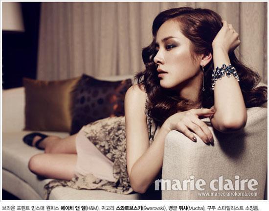 Han Ji Min Marie Claire