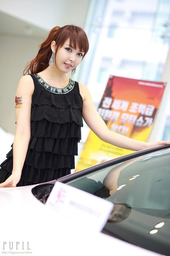 Kang Yui Seoul Motor Show preview