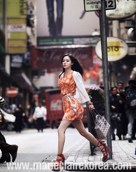 Min Hyo Rin Marie Claire
