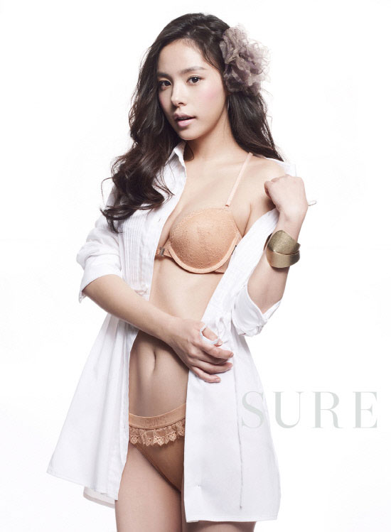 Actress Min Hyo Rin in Levi's Bodywear on Sure Magazine » AsianCeleb