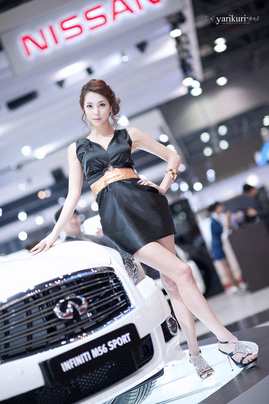 Model Ju Da Ha at Seoul Motor Show 2011 » AsianCeleb