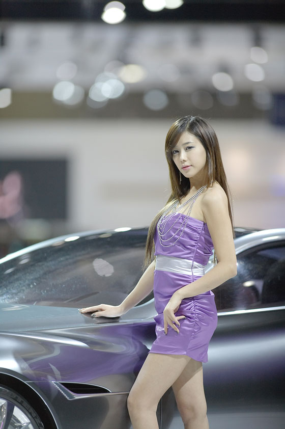 Model Kim Ha Yul at Seoul Motor Show 2011 » AsianCeleb
