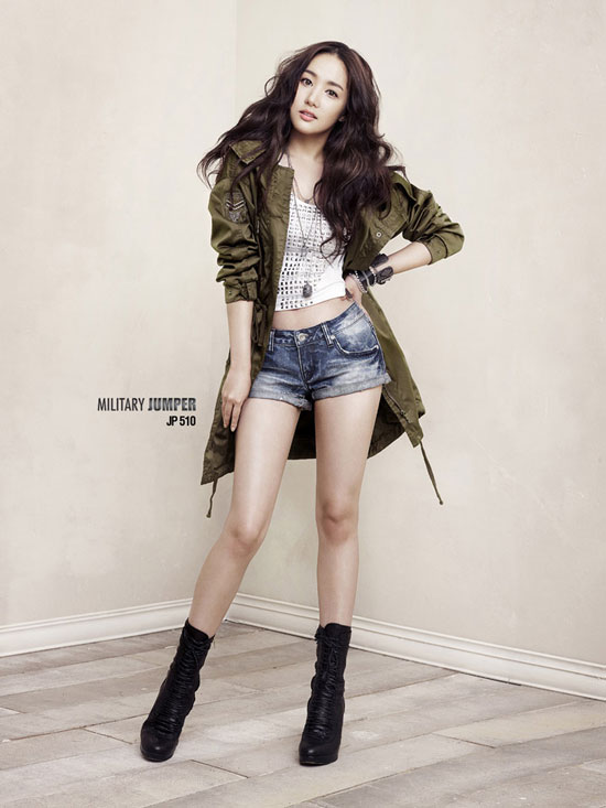 Actress Park Min Young for Buckaroo Jeans » AsianCeleb