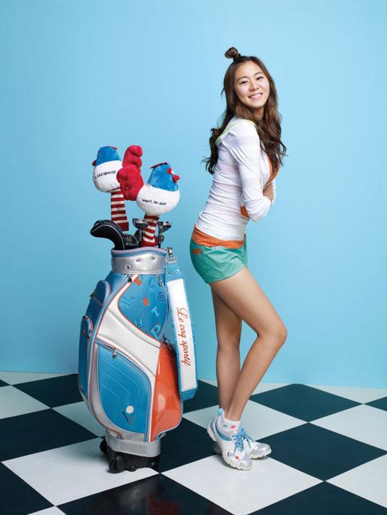 Uie Kim Le Coq Sportif golf collection