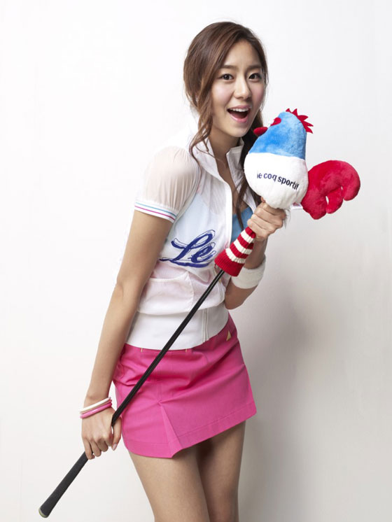 Uie Kim Le Coq Sportif golf collection