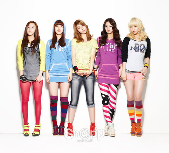 Girls Day Korean Sn@pp Magazine