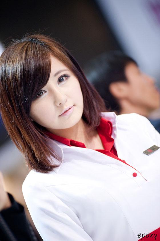 Ryu Ji Hye at WIS 2011