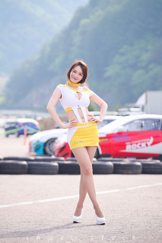 Im Ji Hye CJ Super Race 2011