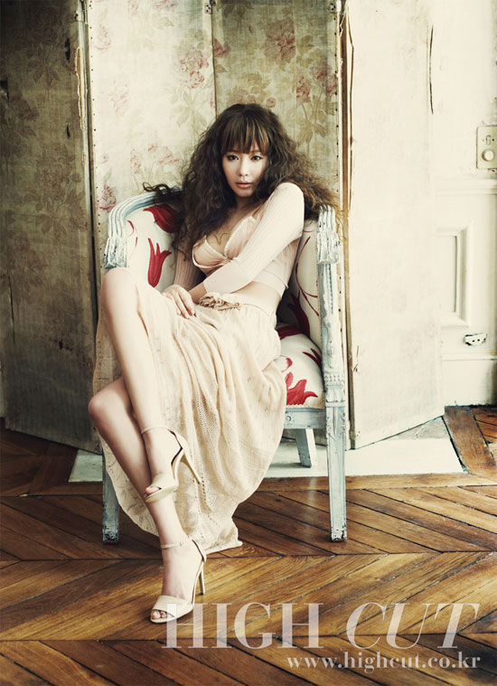 Kim Ah Joong High Cut Paris