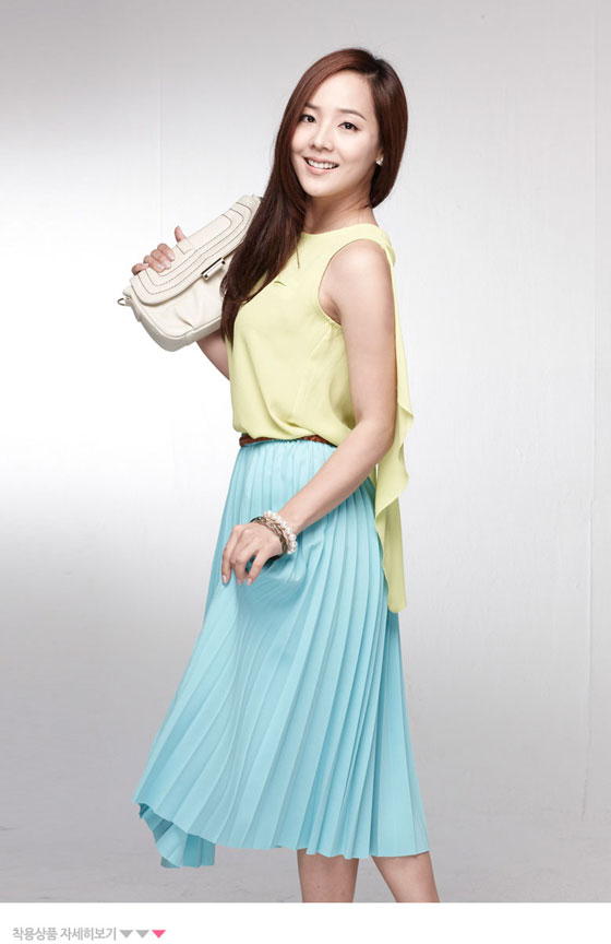 Newly wed actress Eugene Kim for Bymomo clothings » AsianCeleb