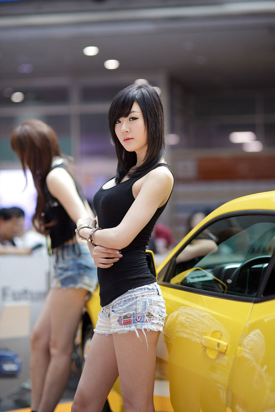 Hwang Mi Hee Chevrolet promotion event