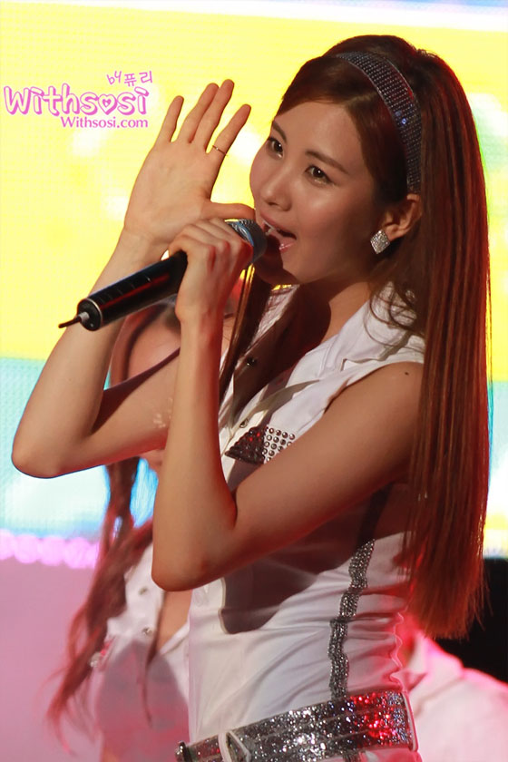Pop group Girls' Generation at Cheongsim Music Festival » AsianCeleb