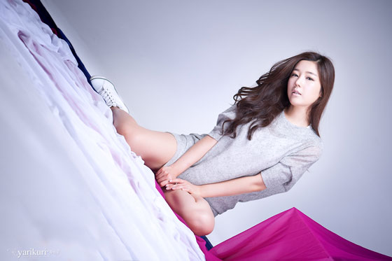 Korean Model Jo Sang Hee Studio Photoshoot » AsianCelebrity