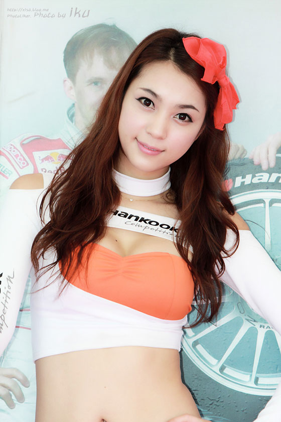 Cute Racing model Ju Da Ha at a Hankook event » AsianCeleb