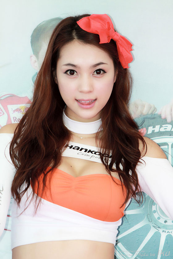 Korean Racing Model Ju Da Ha at a Hankook Event » AsianCelebrity