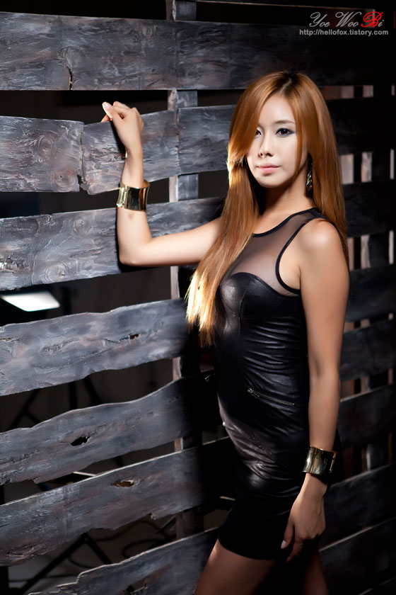 Kim Ha Yul leather black