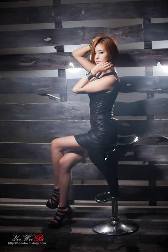 Korean Model Kim Ha Yul Looking Sexy in Black (part 2) » AsianCelebrity