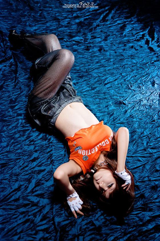 Korean Model Ryu Ji Hye in Hip Hop Fashion » AsianCelebrity
