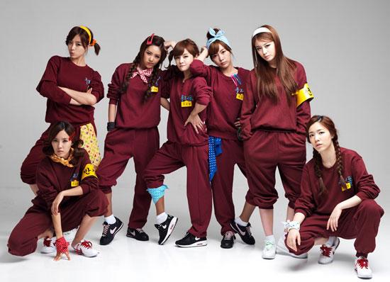 "Girl group T-ara's ""Roly Poly"" album school girl » AsianCeleb"