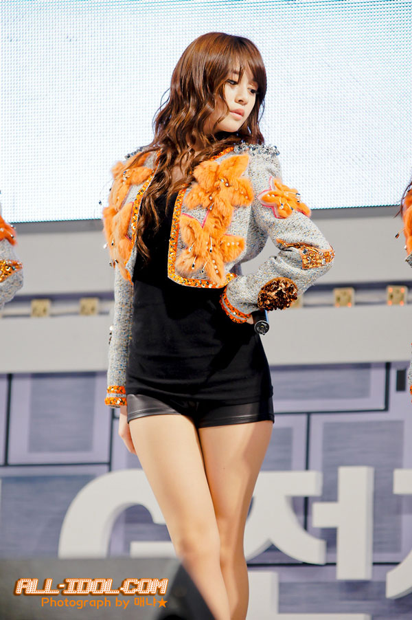 Korean Girl Group T-ara Member Park Ji Yeon at a LG Event » AsianCelebrity