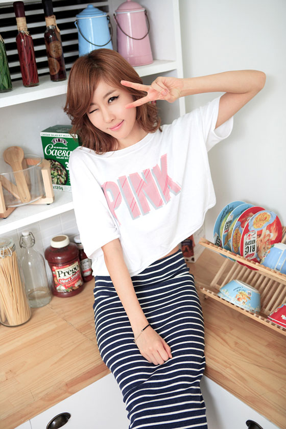 Model Choi Byul I kitchen photoshoot » AsianCeleb