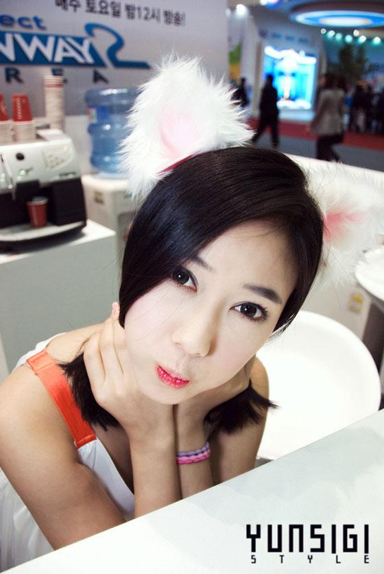 Model Kim Ha Yul at the 2010 Digital Cable TV Show » AsianCeleb