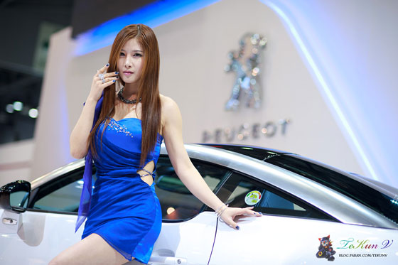 Model Hwang Ga Hi at Seoul Motor Show in April 2011 » AsianCeleb