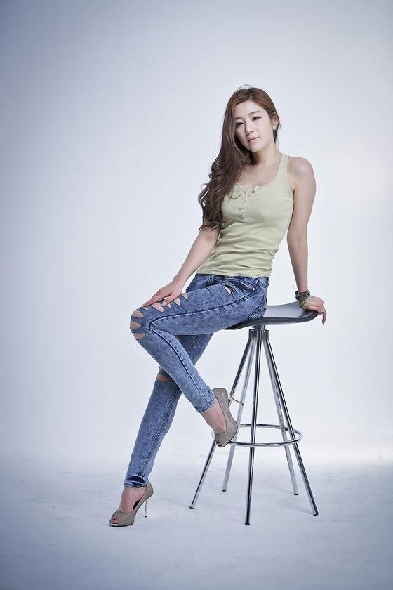 Jo Sang Hee Korean jeans