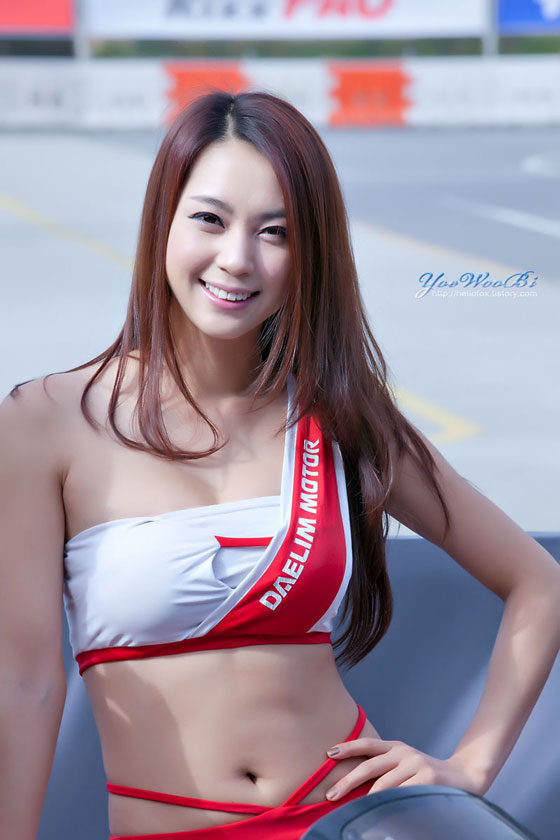 Korean Race Queen Ju Da Ha at Round 4 KSRC » AsianCelebrity