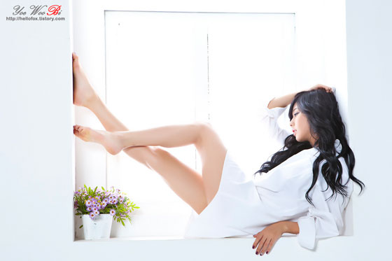 Model Kim Ha Yul sexy in white shirt » AsianCeleb