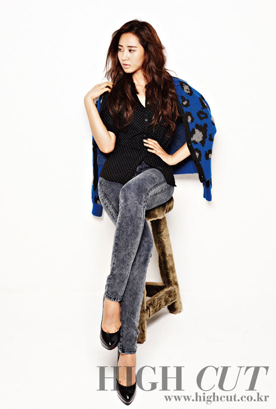 Kwon Yuri Korean High Cut Magazine