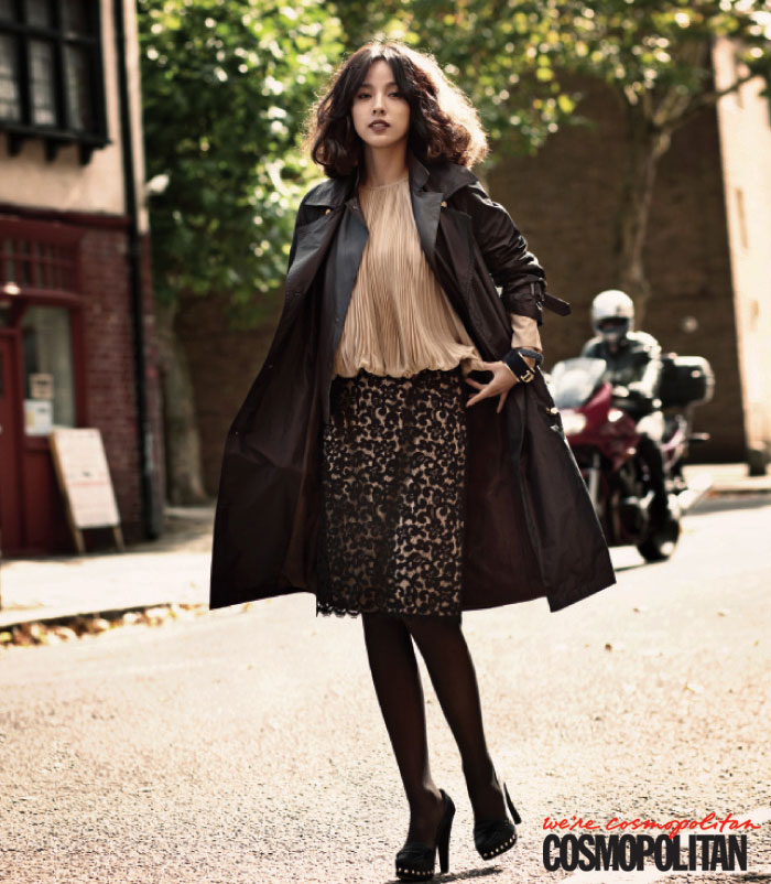 Korean Pop singer Lee Hyori on Cosmopolitan Magazine » AsianCeleb