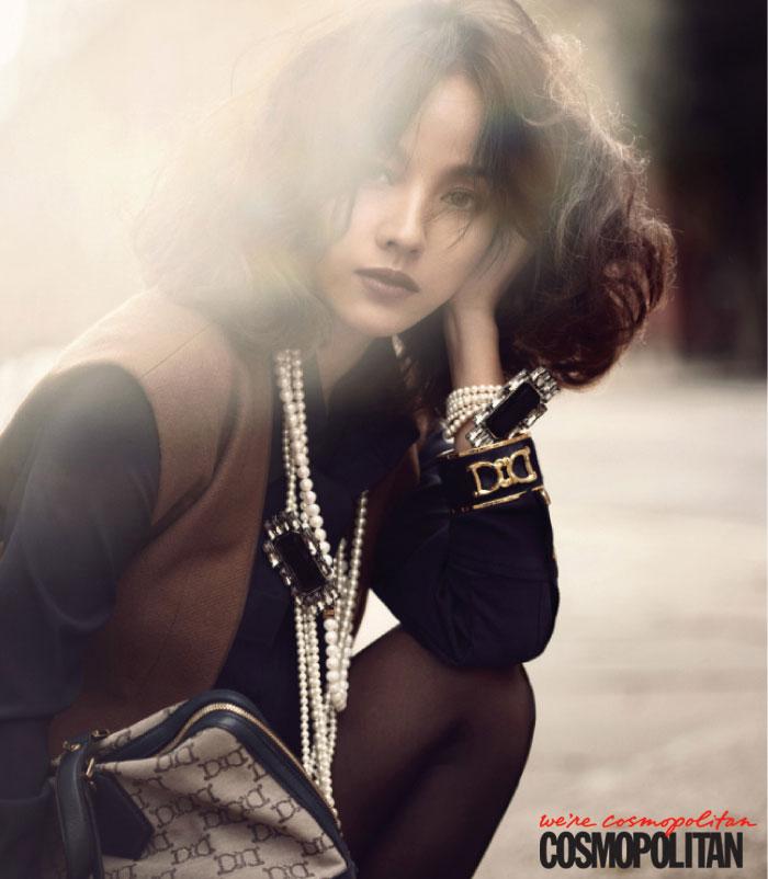 Pop singer Lee Hyori on Cosmopolitan Magazine » AsianCelebrity
