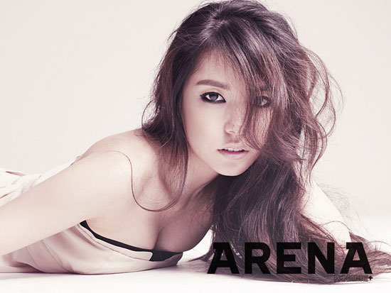Min Hyo Rin Arena Homme Magazine