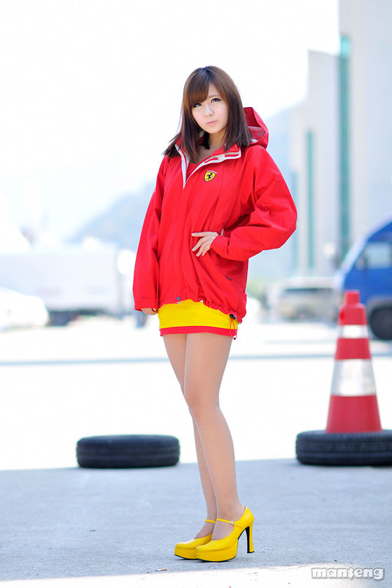Korean Racing Model Ryu Ji Hye at Round 3 KSF » AsianCelebrity