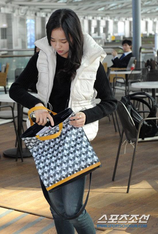 Korean gymnast Son Yeon Jae Incheon Airport
