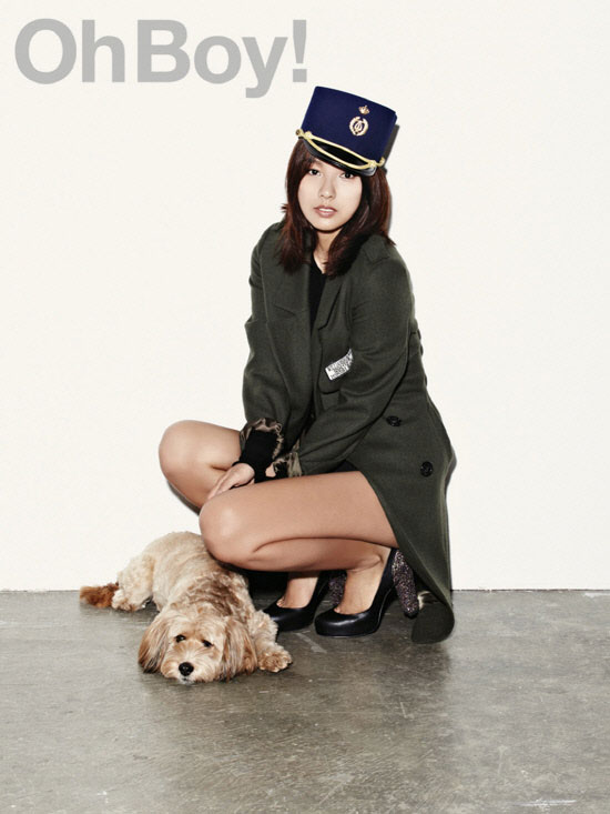 Lee Hyori Oh Boy Top Girl