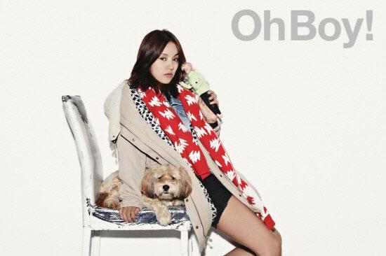 Lee Hyori Oh Boy Top Girl