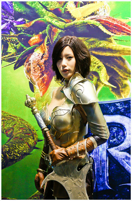 Song Jina G-Star cosplay