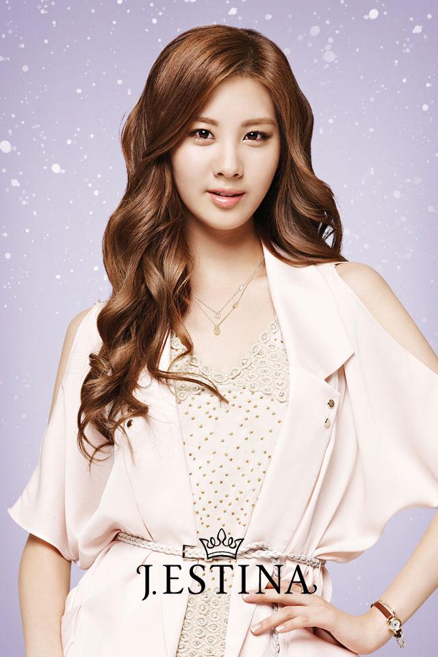 Korean Cute Girl Group SNSD J.estina as Smartphone Wallpaper » AsianCeleb