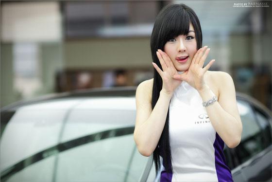 Hwang Mi Hee Infiniti G Racing