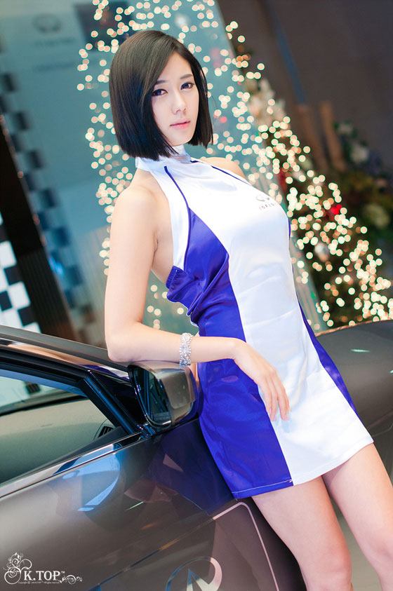 Korean Model Kim Ha Yul at Infiniti G Racing » AsianCeleb