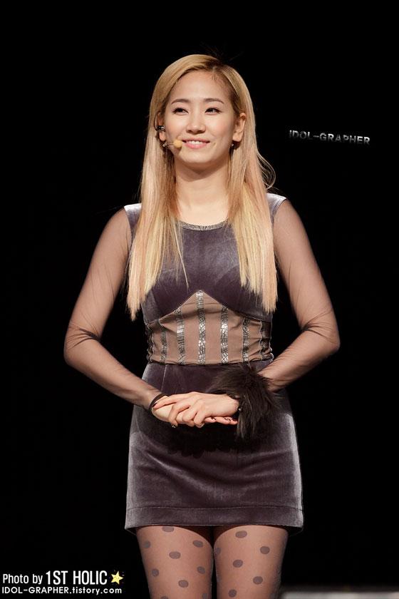 Wonder Girls Yenny MBN Concert